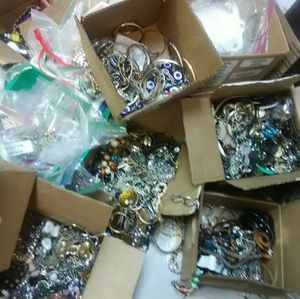 Wholesale jewelry lot vintage and modern resale